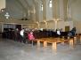 Rozpoczęcie nabożeństw w nowym kościele 2013